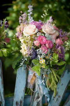 Beautiful Bouquet of garden flowers. If you love gardening please visit us on Facebook: https://www.facebook.com/GreenDreamsLandscape