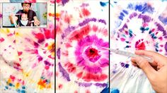 Tie-Dye Baby Wipes Painting Technique for Beginners | Easy Fun Art Projects