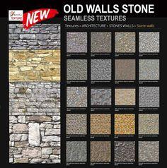nova velhas paredes de pedra textura sem emenda