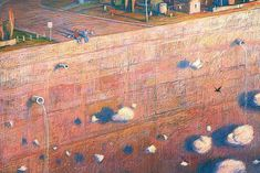 """How great it must have been long ago, when the world was still unknown"" Tales from Outer Suburbia by Shaun Tan"