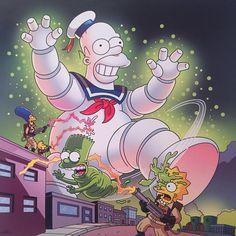 Simpson Wallpaper Iphone, Funny Phone Wallpaper, Cartoon Wallpaper, Simpsons Drawings, Simpsons Art, Watch Cartoons, Cool Cartoons, Morbider Humor, Badass Drawings