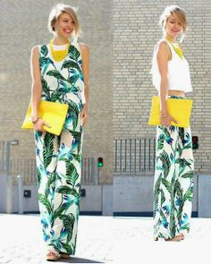 A tropical outfit that's sure to light up your day (by Leonie Sophie of Ohh…