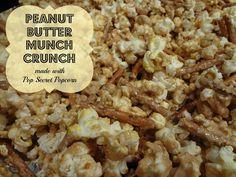 Peanut Butter Munch Crunch made with Pop Secret Pop Corn via www.jmanandmillerbug.com.