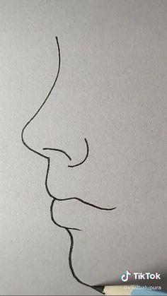 Cute Easy Drawings, Art Drawings Sketches Simple, Pencil Art Drawings, Simple Sketch Drawing, Easy Sketches To Draw, Pencil Sketches Easy, Pencil Portrait Drawing, Horse Drawings, Portrait Art