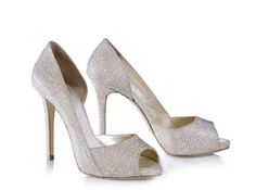 Wedding Shoes with Sparklers