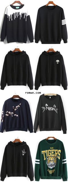 Fall Sweatshirts Collection - rowme.com. The Tigers one looks so cozy