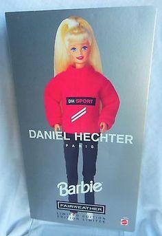Daniel-Hechter-Paris-FAIRWEATHER-BARBIE-doll-LE-1997-MIB