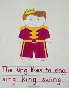 """""""ING"""" Worksheet from TwistyNoodle.com Ing Words, Mini Books, Worksheets, Singing, Fictional Characters, Literacy Centers, Fantasy Characters, Countertops"""