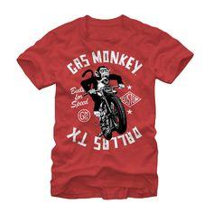 cyberteez.com - Gas Monkey Garage Monkey Moto Fast N Loud Dallas, TX T-Shirt, $19.95 (http://www.cyberteez.com/gas-monkey-garage/gas-monkey-garage-monkey-moto-dallas-tx-t-shirt/)