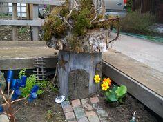 Fairy House & Bottle Tree