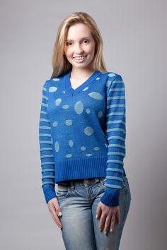 Coleção Teen tricot Kardiê Outono Inverno 2014. Ref. 7736. 2014 Fall Winter Collection tricot Kardiê.