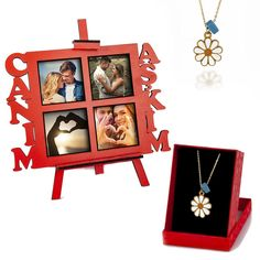 Personalized My Dear Love Necklace Set with EaselThe necklace will be sent with 4 easels with pictures.#forgirlfriend #necklace #wooden thanksgiving decorations outdoor Personalized My Dear Love Necklace Set with Easel 27+ Thanksgiving Decorations Outdoor 2020