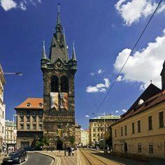 Jindrisska tower, P, Czech republic, Europe