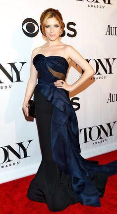 Anna Kendrick at the 2013 Tony Awards