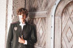 Lodenjacke Kaschmir oliv M - Mirabell Plummer Double Breasted Suit, Suit Jacket, Blazer, Suits, Jackets, Fashion, Cashmere, Scale Model, Moda