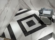Art Deco Black and white Marble - Italian Tile and Stone Dublin