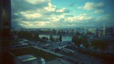 View from Novotel tour eiffel