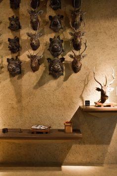 Terunobu Fujimori at KITKA design toronto Plaster Walls, Wine Rack, Distance, Nostalgia, Spaces, Display, Color, Design, Home Decor