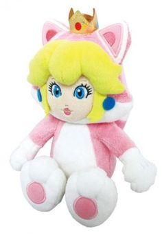 Cat Princess Peach Artwork  Super Mario 3D World  Adorbs Love