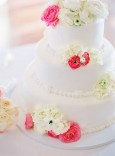 cake+flowers
