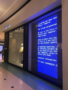 Just found this at the local mall #bsod #pbsod