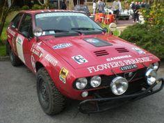 Alfa Romeo GTV Safari, lifted