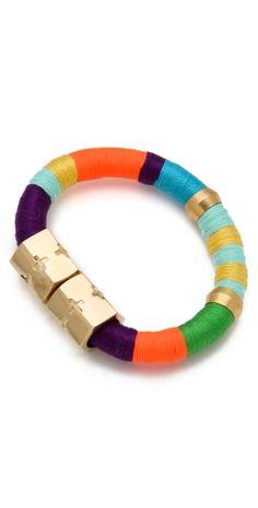 Color Block Bracelet by Mercedes Dillet
