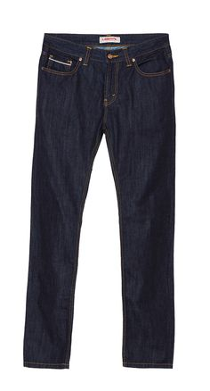 Slim Fit Fashion Denim With Twilltape design by Liberal Jeans. Remember denim never go wrong! Complete your denim collection with this slim fit denim with twilltape made from good material, with dark blue color, front button and zipper closure. http://www.zocko.com/z/JJVo4