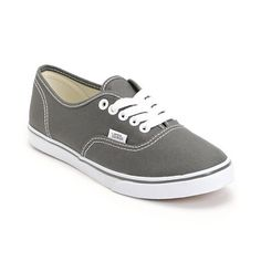 37b4f315c58e1e Vans Girls Authentic Lo Pro Pewter Shoe at Zumiez   PDP I want these so  flippin bad!