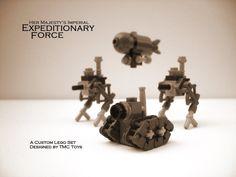 Lego Microscale Builds