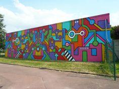 Rayon Gamma – Le Street Art par Seize Happywallmaker