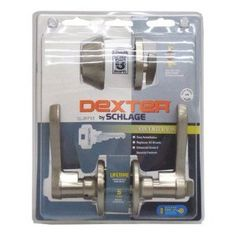 Schlage JC60V LAS 619 Security Set Single Cylinder Deadbolt and J54 Keyed Entry Lasalle Lever, Satin Nickel Finish by Schlage Lock Company. $55.12. From the Manufacturer                For more than 90 years, Schlage has built a legacy of providing security, quality and innovation to homes and businesses. This Dexter by Schlage security set features our JD60 Grade 3 deadbolt and a field reversible J54 keyed lever keyed alike. Both locks in this set are backed by our limited li...
