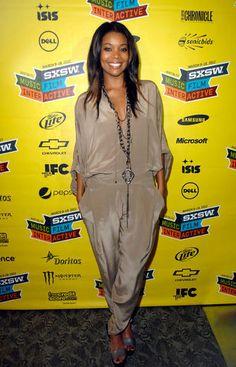 Gabrielle Union ... <3 the jumpsuit