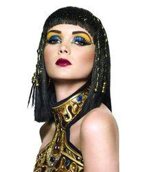 dica de maquiagem Cleópatra no Halloween