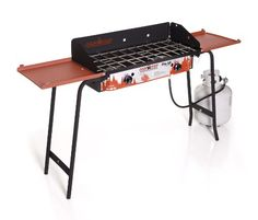 """Camping Kitchen :""""Camp Chef Professional Series DB-60D Pro 60 2-Burner Modular Cooking System : Red/Black"""" -- Read review  at this Camping Kitchen board"""