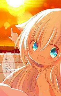 Kawaii Neko Girl, Loli Kawaii, Anime Girl Neko, Chibi Girl, Kawaii Chibi, Lolis Anime, Anime Life, Anime Comics, Kawaii Drawings