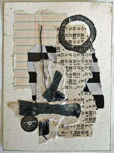 constance rose : mixed media and textiles: Coasting in Neutral