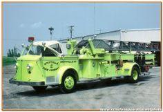 Hudson Fire Department - Hudson, NY...1948 American LaFrance 100' Ladder truck...