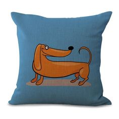 Funky Dog Pillow Case