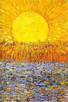 Vincent Van Gogh「Le Soleil」