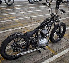 Moped Bike, Bobber Bikes, Bobber Motorcycle, Bobber Chopper, Motorcycle Style, Mini Chopper, Triumph Motorcycles, Cool Motorcycles, Vintage Motorcycles