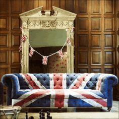 Union Jack Chesterfield