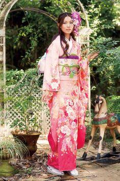 Japanese Kimono for my daughter.