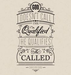 "Gateway Church on Twitter: """"God doesn't call the qualified … He ..."