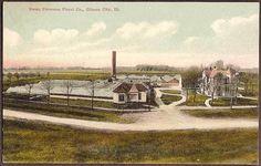 Guantanamo Bay, Cuba Vintage Postcard - Ice Plant and Marine Barracks