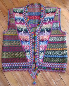 Ravelry: Andean Vest Recipe pattern by Lucy Neatby