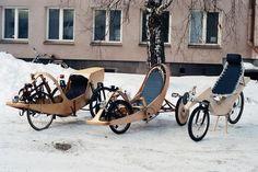 Des vélos extraordinaires et surprenants