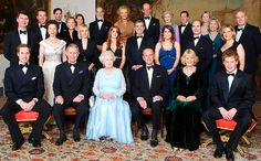 HM, Diamond Wedding Anniversary,Generations unite: The royals gathered to mark the Queen and the Duke of Edinburgh's diamond wedding anniversary with a dinner at Clarence House on Sunday night    Read more: http://www.dailymail.co.uk/news/article-494885/Zaras-short-skirt-steals-Queens-diamond-wedding.html#ixzz2IrSzwtHz   Follow us: @MailOnline on Twitter | DailyMail on Facebook