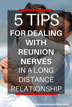 Do you get anxious and tense before reuniting with your long-distance partner? Even if you've been dating for ages? Even if you're married?