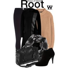 Person of Interest by wearwhatyouwatch on Polyvore featuring мода, The Row, Neil Barrett, River Island, Karen Millen, television and wearwhatyouwatch